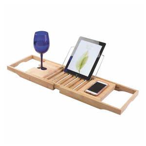 Bambusowa regulowana półka na wannę iDesign Formbu obraz