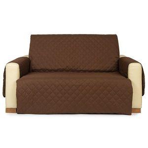 4Home Narzuta na kanapę 2-osobową Doubleface brązowa/beżowa, 140 x 220 cm, 140 x 220 cm obraz