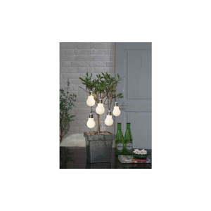 Ogrodowa girlanda świetlna LED z motywem żarówek Best Season Glow, 5 lampek obraz