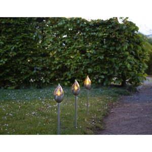 Zestaw 3 ogrodowych dekoracji świetlnych LED Best Season Olympus, wys. 40 cm obraz