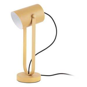 Żółta lampa stołowa Leitmotiv Snazzy obraz