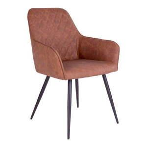 Zestaw 2 brązowych krzeseł House Nordic Harbo obraz