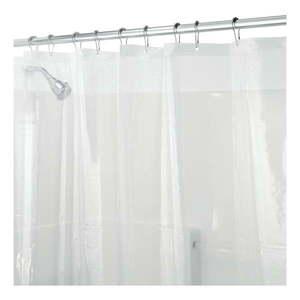 Przezroczysta zasłona prysznicowa iDesign PEVA, 200x180 cm obraz
