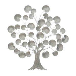 Dekoracja ścienna w kolorze srebra Mauro Ferretti, ø 87, 5 cm obraz
