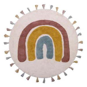 Dywan dziecięcy wykonany ręcznie Nattiot Rainbow, ø 110 cm obraz