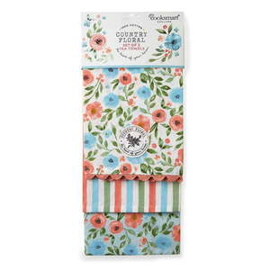 Zestaw 3 ścierek kuchennych Cooksmart ® Country Floral obraz