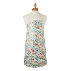 Bawełniany fartuch z cielistym wiązaniem Cooksmart ® Country Floral obraz