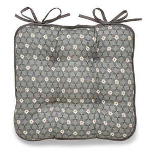 Szara bawełniana poduszka na krzesło Cooksmart ® Purity obraz