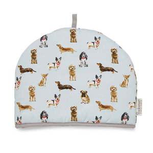 Bawełniany ocieplacz na dzbanek Cooksmart ® Curious Dogs obraz