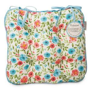 Bawełniana poduszka na krzesło Cooksmart ® Country Floral obraz
