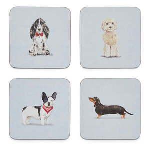 Zestaw 4 podkładek Cooksmart ® Curious Dogs obraz