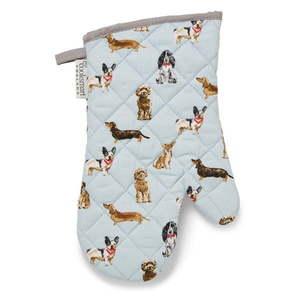 Bawełniana rękawica kuchenna Cooksmart ® Curious Dogs obraz