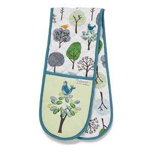 Podwójna bawełniana łapka Cooksmart ® Forest Birds obraz