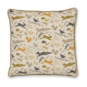 Bawełniana poduszka Cooksmart ® Woodland, 45x45 cm obraz