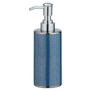 Niebieski ceramiczny dozownik do mydła Wenko Nuria, 300 ml obraz