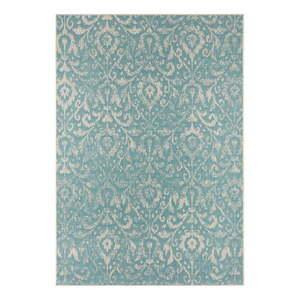 Turkusowo-beżowy dywan odpowiedni na zewnątrz Bougari Hatta, 140x200 cm obraz