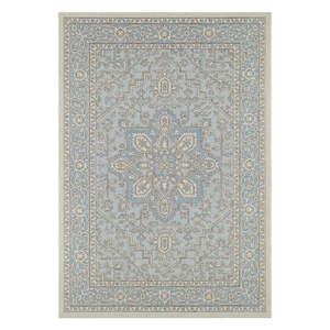 Niebiesko-beżowy dywan odpowiedni na zewnątrz Bougari Anjara, 200x290 cm obraz