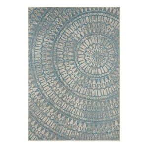 Szaroniebieski dywan odpowiedni na zewnątrz Bougari Amon, 140x200 cm obraz