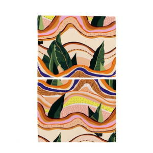 Zestaw 2 mat stołowych Butter Kings Abstract Landscape obraz
