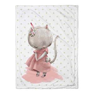 Dziecięca kołdra Mr. Little Fox Mouse, 100x70 cm obraz