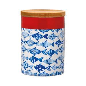 Pojemnik do przechowywania z bambusową pokrywką Remember Fish, 275 ml obraz