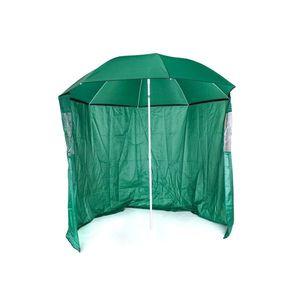 Happy Green Parasol słoneczny ze ścianą boczną, śr. 230 cm obraz