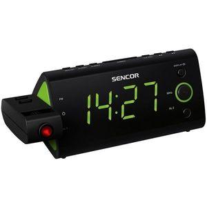 Sencor SRC 330 GN Radiobudzik z projektorem obraz