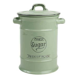Zielony pojemnik ceramiczny na cukier T&G Woodware Pride Of Place, 1, 25 l obraz
