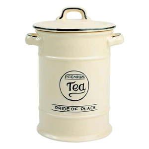 Kremowy pojemnik ceramiczny na herbatę T&G Woodware Pride Of Place obraz