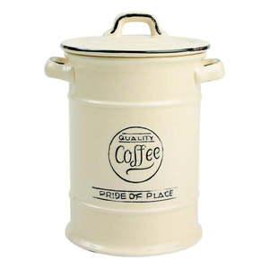 Kremowy pojemnik ceramiczny na kawę T&G Woodware Pride Of Place obraz