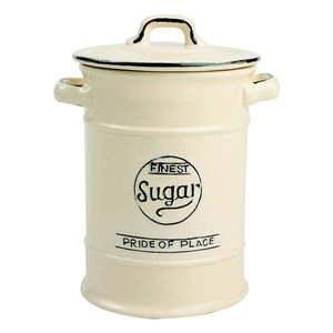 Kremowy pojemnik ceramiczny na cukier T&G Woodware Pride Of Place obraz