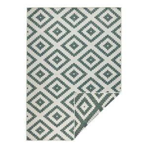 Zielono-kremowy dywan dwustronny Bougari Malta, 80x150 cm obraz