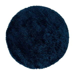 Ciemnoniebieski dywan Flair Rugs Sparks, ⌀ 133 cm obraz