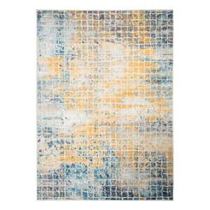 Niebiesko-żółty dywan Flair Rugs Urban, 133x185 cm obraz