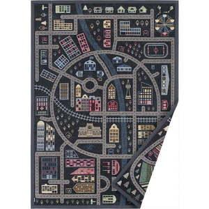 Czarny dwustronny dywan dziecięcy Narma Ulejoe, 160x230 cm obraz