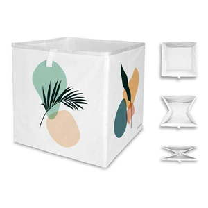 Białe pudełko z mikrowłókna Butter Kings Botanical Art, 32 l obraz