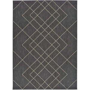 Szary dywan odpowiedni na zewnątrz Universal Hibis, 80x150 cm obraz