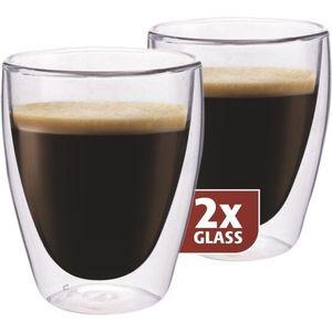 """Maxxo """"Coffee"""" 2-częściowy zestaw termoszklanek, 235 ml obraz"""