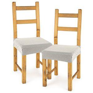 4Home Pokrowiec multielastyczny na krzesło Comfort cream, 40 - 50 cm, 2 szt. obraz