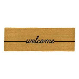 Podłużna wycieraczka Artsy Doormats Welcome, 120x40 cm obraz
