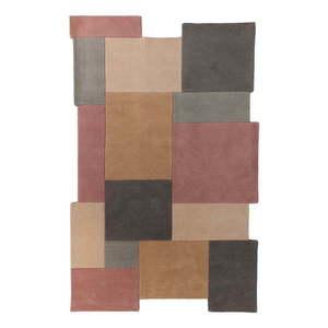 Wełniany dywan Flair Rugs Collage Earthy, 150x240 cm obraz