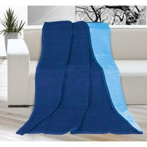 Bellatex Koc Kira niebieski/jasnoniebieski, 150 x 200 cm obraz