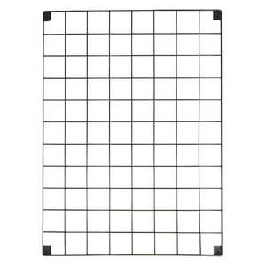 Komplet 2 czarnych kratek/organizerów Reminder, 50x70 cm obraz