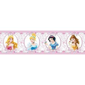 Bordiura samoprzylepna Księżniczki , 500 x 14 cm obraz