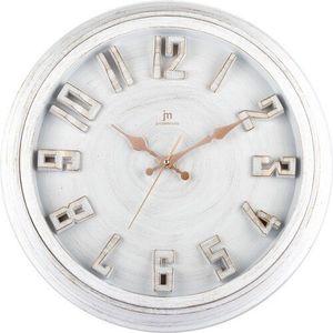 Lowell 00825B Stylowy zegar ścienny śr. 40 cm obraz