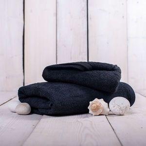 Ręcznik Unica - 70x140, czarny obraz