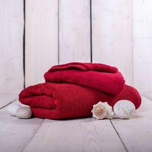 Ręcznik Unica - 70x140, bordowy obraz