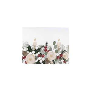 Zestaw 2 bawełnianych świątecznych serwetek Butter Kings Fir Branches, 45x35 cm obraz