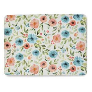Zestaw 4 korkowych mat stołowych Cooksmart ® Country Floral obraz
