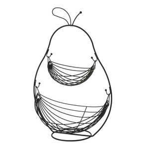 Dwupoziomowy kosz na owoce Unimasa Metalo obraz